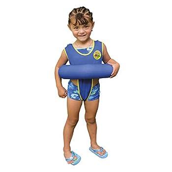 Poolmaster Learn-to-Swim Swimming Pool Tube Float Trainer Blue 3-6 Years
