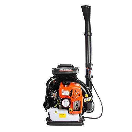 Soplador de hojas con mochila de gasolina 65cc, extremadamente potente - 210MPH (MK-II)
