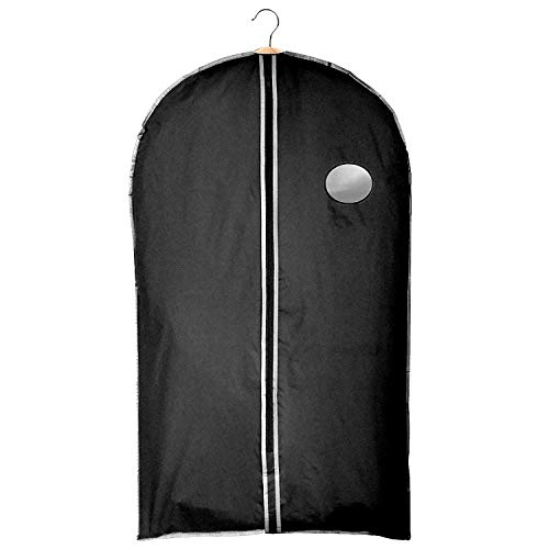 Clay Roberts Suit Cover Garment Bag, Black, Shirt Cover, Clothing Travel Bag, Shower Proof