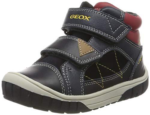 Geox B Omar Boy A, Zapatillas para Bebés, Azul (Dk Navy/Red