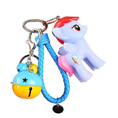Dibujos Animados My Little Pony muñeca Colgante Llavero de...