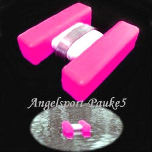 Expert Anglers H-Bojen, Markierung für Futterplatz usw. Marker Leuchtfarbe- Pink/Groß