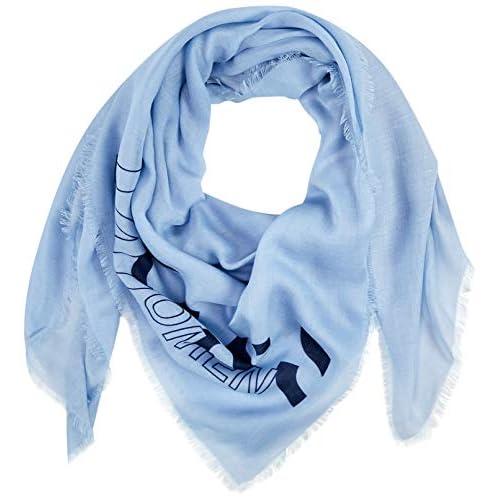 BOSS Natini Sciarpa, Blu (Light/Pastel Blue 450), (Taglia Unica: Onesi) Donna