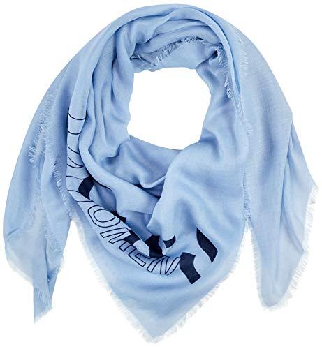 BOSS Damen Natini Schal, Blau (Light/Pastel Blue 450), One Size (Herstellergröße: ONESI)