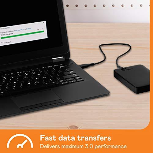 WD Elements Portable, externe Festplatte – 2 TB – USB 3.0 – WDBU6Y0020BBK-WESN - 4