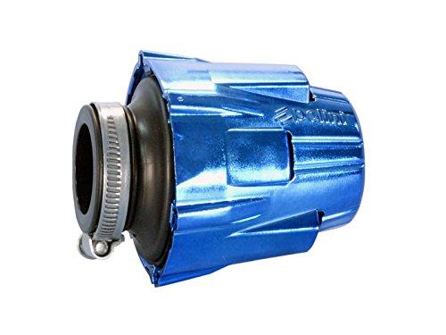 Luftfilter Polini Blue Air Box 46mm gerade blau-schwarz
