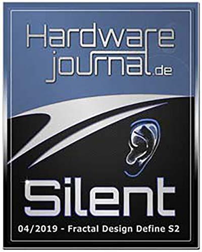 Fractal Design Define S2 Blackout Glass Light - Alloggiamento per ATX, FD-CA-DEF-S2-BKO-TGL