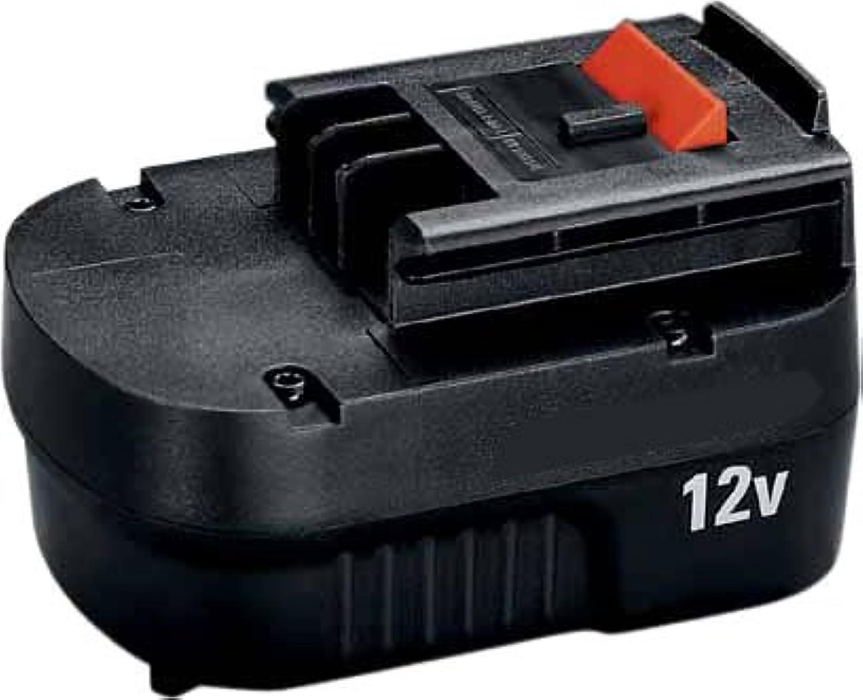 有効化治安判事座るブラックアンドデッカー(BLACK+DECKER) スライダーバッテリー 12V A12