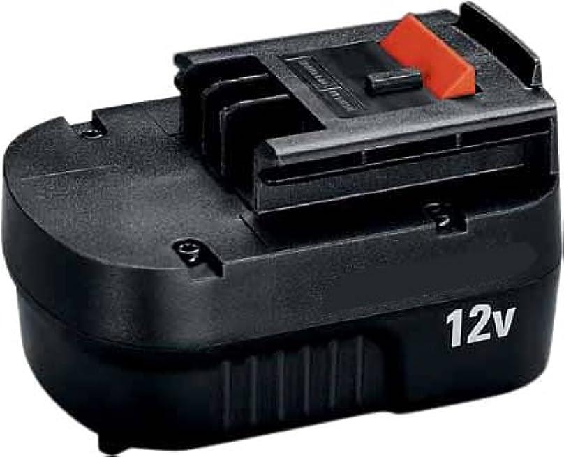 インゲン指令仕立て屋ブラックアンドデッカー(BLACK+DECKER) スライダーバッテリー 12V A12