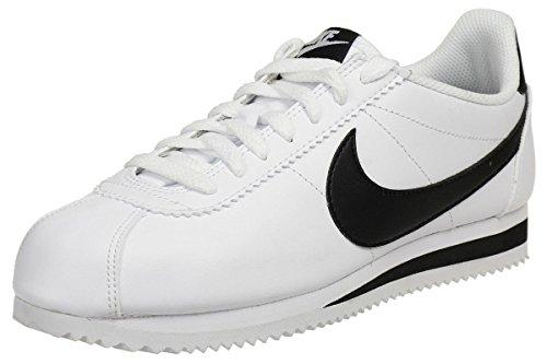 Nike Classic Cortez, Zapatillas Mujer, Blanco (White/Black-White 101), 38.5 EU