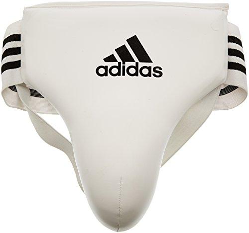adidas Herren Tiefschutz Men's Groin Guard, white, L, adibp05