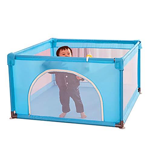 WYQ Petit Parc pour bébé, Aire de Jeu pour bébé, barrière de sécurité pour bébés et Enfants (Bleu, Couleur) Parc pour bébé (Couleur : Bleu, Taille : 100×100x70cm)