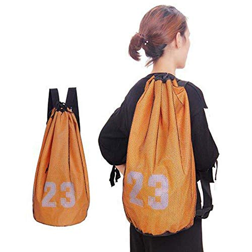 DFKDGL Basketballtasche Kordelzug Rucksack Fitness Bucket Bag Outdoor Basketball Home Fitnessgeräte