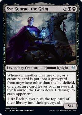 Magic: The Gathering - Syr Konrad, The Grim - Throne of Eldraine