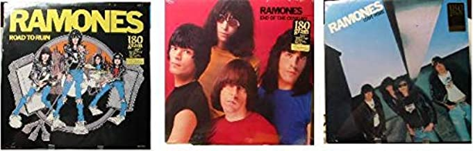 RAMONES - New Sealed 180 Gram Set of 3 - END OF THE CENTURY - ROAD TO RUIN - LEAVE HOME