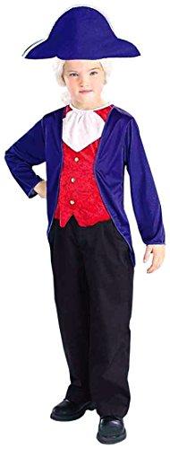Costume Child George Washington Medium (Kostüme)
