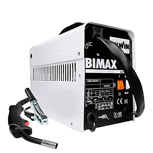 Telwin 821077 Soldadora de hilo Flux No Gas, BIMAX 120 Automatic, 90...