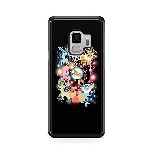 Coque pour Samsung Galaxy J6 2018 Pokemon go Team Pokedex Pikachu Manga Tortank Game Boy Color Salameche Noctali Valor Mystic Instinct Case + Stylet + Lingette de Nettoyage Ecran 13