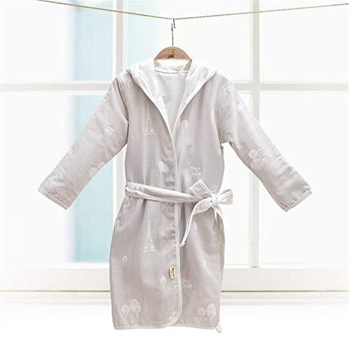 Pingrog Niños Encapuchado De La Historieta Camisón Albornoz Impreso Pijama con Estilo único De Algodón Albornoces Ropa De Dormir (Color: Lavanda Tamaño: Elefantes) Inicio Moda Pijamas Cómodos