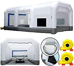 GORILLASPRO Inflatable Paint Booth 33X20X15Ft?Inflatable Spray Booth with Blower?Upgrade Air Filter System Environment Friendly?More Durable Portable Spray Painting Tent Booth