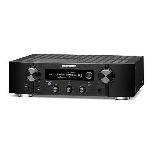 Marantz PM7000N Integrated Stereo Hi-Fi Amplifier HEOS Built-in Supports Digital and Analog Sources Compatible with Amazon Alexa Phono Input