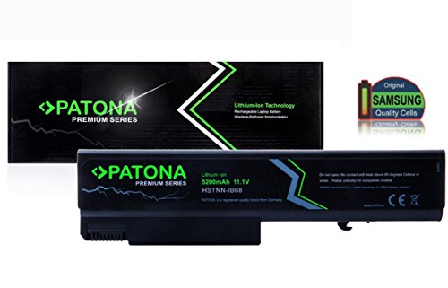PATONA Batterie Premium (5200mAh) compatible avec ordinateur portable HP Compaq 6500b | 6530b | 6535b | 6700b | 6730b | 6735b | Elitebook 6930p | 8440p | 8440w | ProBook 6440b | 6445b | 6450b | 6540b | 6545b | 6550b | 6555b