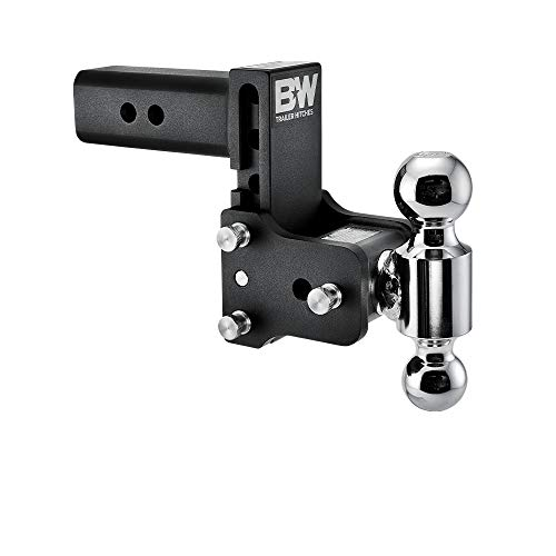 B&W Tow & Stow - Fits 2.5' Receiver, Dual Ball (2' x 2-5/16'), 5' Drop, 14,500 GTW