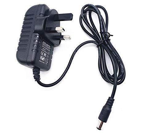 Peephet AC/DC Adapter for RYOBI CD100 12.0V 12 VOLT 12VDC Drill Driver Battery