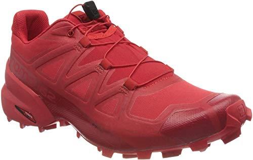 SALOMON Mens 406843_45 1/3 Running Shoes, red