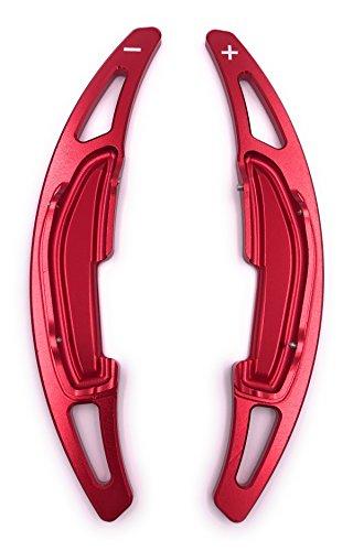 H-Customs DSG Schaltwippen Verlängerung Schaltung Shift Paddle Alu eloxiert Rot für M2 M3 M4 M5 M6 X5M X6M