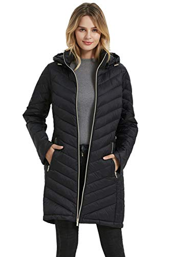 BINACL Women's Long Down Jacket,...