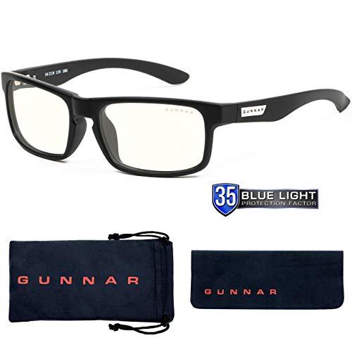 Gunnar ENIGMA ONYX LIQUET Lunette anti fatigue de protection contre UV Blanc