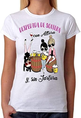 Camiseta Despedida de Soltera con Altura y sin jartura