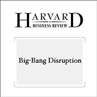 『Big-Bang Disruption (Harvard Business Review)』のカバーアート