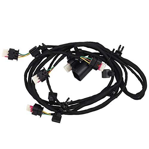 Sonline ArnéS de Cableado del Sensor de Estacionamiento del Parachoques Delantero del Coche Cable PDC Apto para 7 Series F01 F02 F04 61129199247