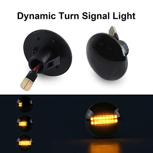 Clear Dynamic Flowing LED Turn Signal Lamp For BMW MINI COOPER R60 R61 2012-2017