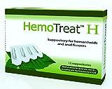 HemoTreat ® Emorroidi 12 Supposte, per un veloce efficace e sicuro trattamento delle emorroidi e dei principali disturbi