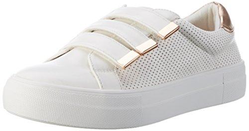 Carvela Damen Marlow Sneaker, Weiß (White), 41 EU