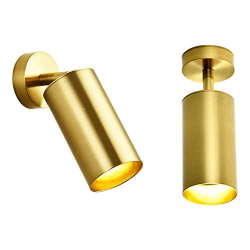 Hobaca GU10 Moderno Oro LED Focos para el techo Downlight Montadas en...