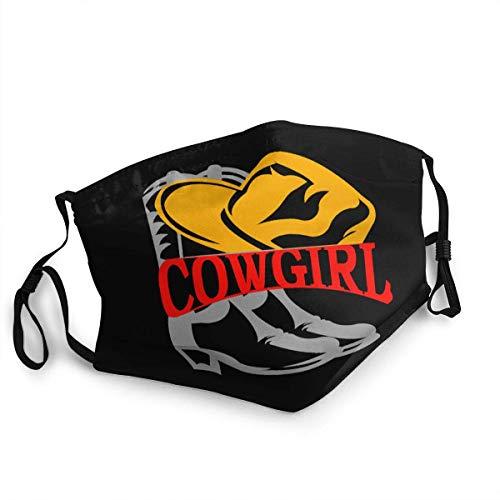 pumpkin pie Cowgirl, Cowboyhut und Stiefel Personalisierter Mundschutz Wiederverwendbarer Mundschutz (Give Five Mouth Guard)