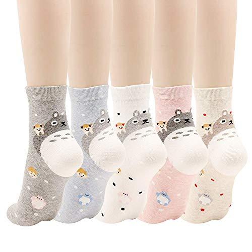Calcetines para mujer con diseño de búho, diseño de...