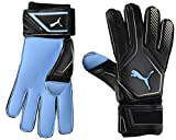 PUMA King Aqua Guantes De Portero, Unisex-Adult, Black-Gold White, 7.5