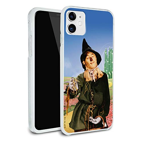 Wizard of Oz Scarecrow Character Protective Slim Fit Hybrid Rubber Bumper Case Fits Apple iPhone 8, 8 Plus, X, 11, 11 Pro,11 Pro Max