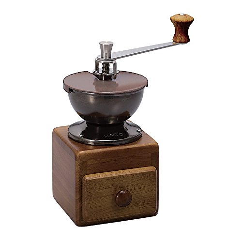 Hario Small Coffee Grinder, 10.5 x 8.9 x 17.9 cm