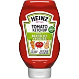 Heinz Tomato Ketchup with a Blend of Veggies, 19.5 oz