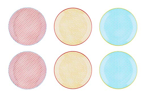 Bjorn Assiette Plate Ø26cm - 6 pièces - Collection Color