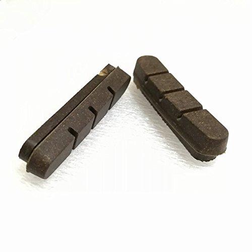 AURORA RACING 4 Pares de Pastillas de Freno de Carbono para Ruedas de Carbono, Cojines de Material de Corcho Apto para Shimano y SRAM SH426RP Uso de Llantas de Carbono