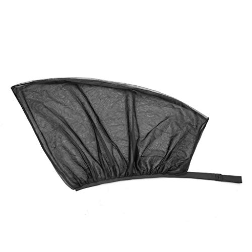 SUN-Feng auto raam beschermkap, zijvenster zonnescherm auto schaduw netto camping muggen net Crape mesh voor en achter gordijnen