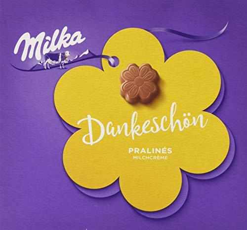 Milka Pralinen aus Milchcrème umhüllt von Alpenmilch, 1er Pack (1 x 110 g)