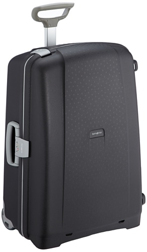 Samsonite Aeris Upright L Suitcase Luggage, 71 cm, 87.5 Litre, Black (Black)